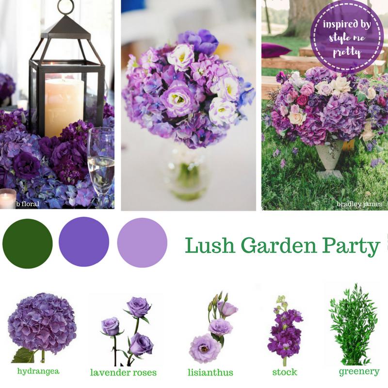 Wholesale Wedding Flower Packages: Buy Wholesale Wedding Flowers Online.Our Purple DIY