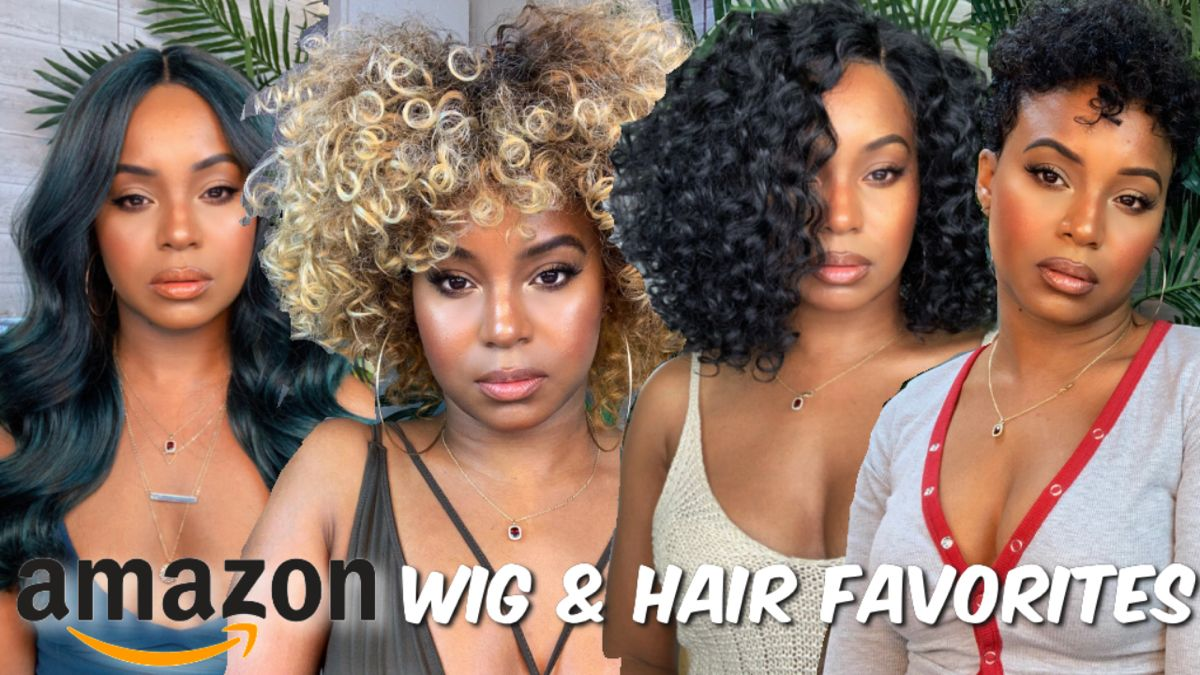 Best Wigs And Hair Products On Amazon On A Budget Best Wigs Curly Hair Styles Black Hair Care