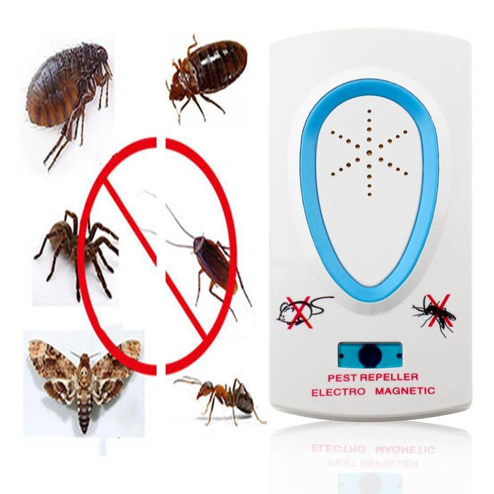 pas cher 2017 2 5 w ue plug ac 90 250 v blanc antiparasite lectronique ultrasons souris rat. Black Bedroom Furniture Sets. Home Design Ideas