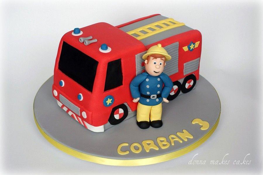 Roccos Bobby Cake For Sophroc Pinterest Fireman Sam Cake
