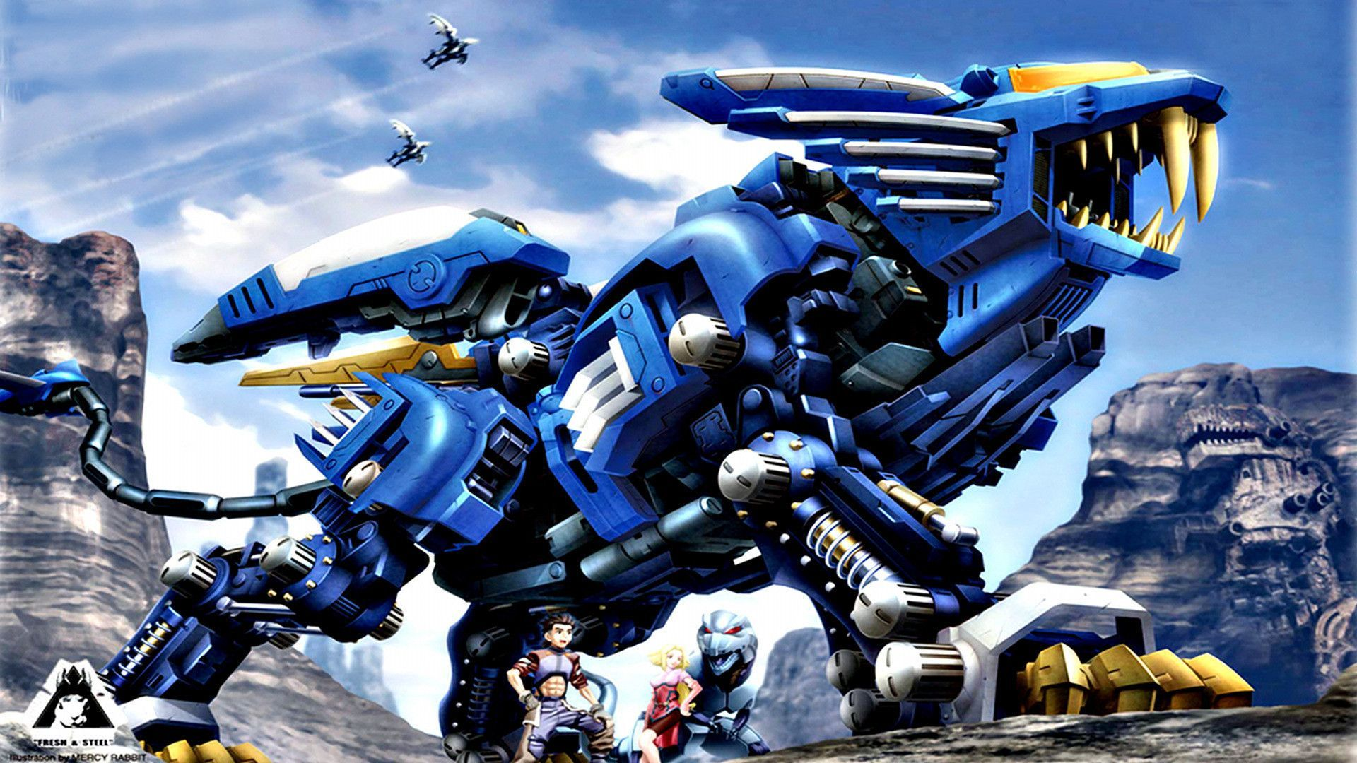 Zoids Liger (With images) Robot animal, Mecha anime, Liger