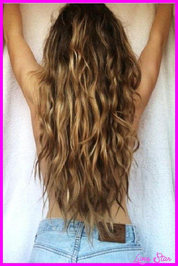 Awesome Beach Wave Perms For Long Hair Lives Star Hair Hair