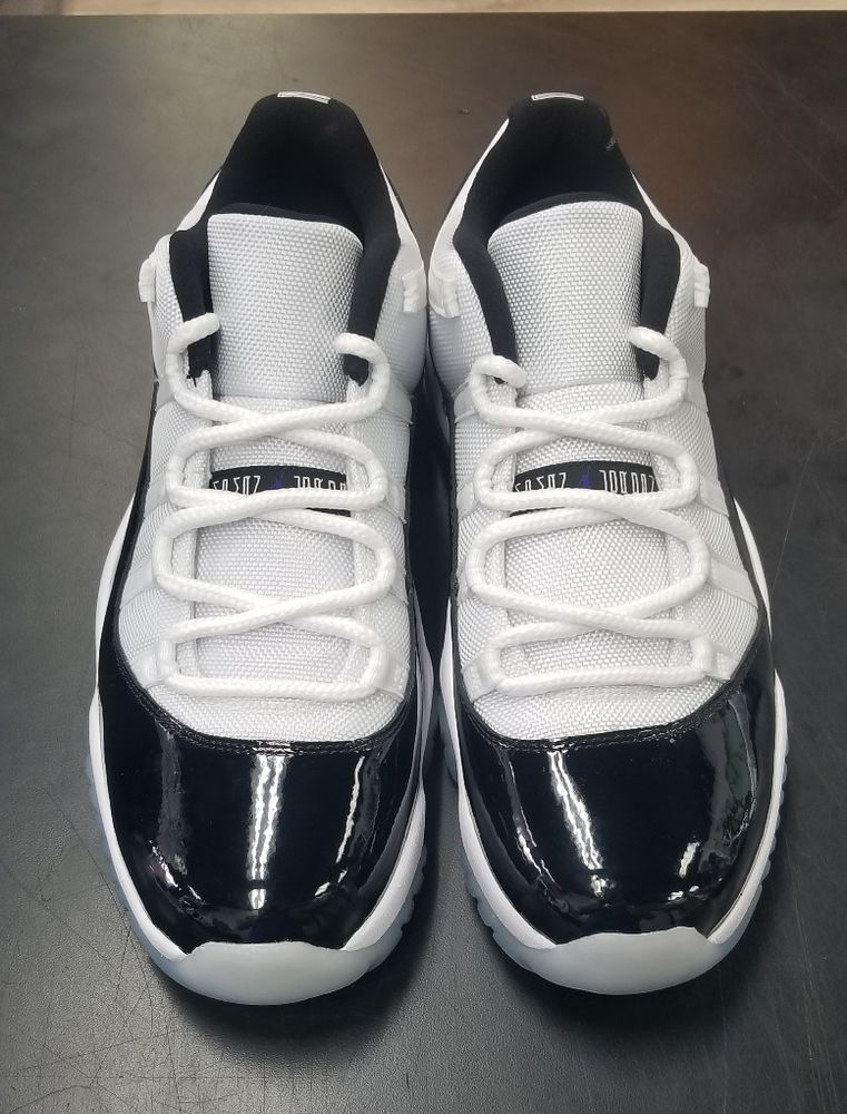 new styles 88e11 4c402 Nike Mens Air Jordan 11 Retro Low Size 10 White Black Concord 528895-153   fashion  clothing  shoes  accessories  mensshoes  athleticshoes  ad (ebay  link)