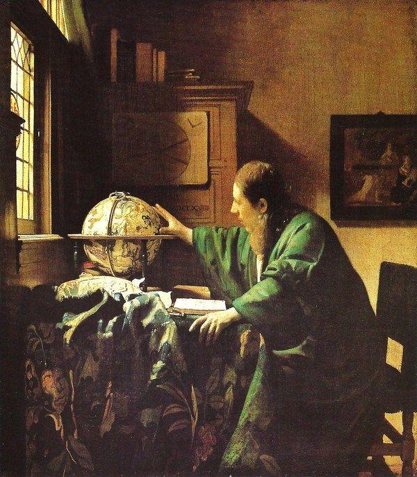Vermeer, L'astronome