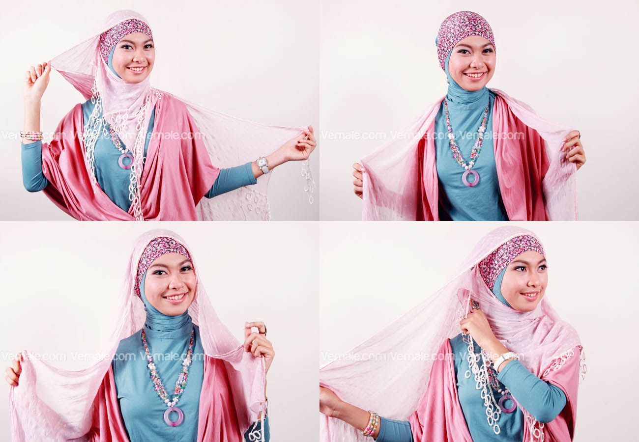Cara Memakai Jilbab Pashmina Modern Cara Memakai Jilbab Pinterest