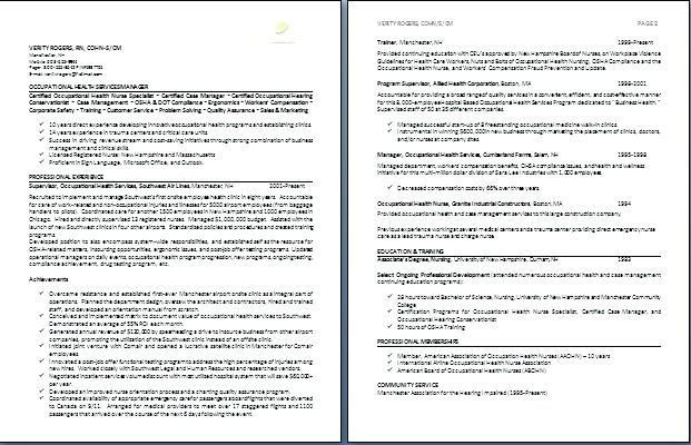 Resume 2 Pages Example