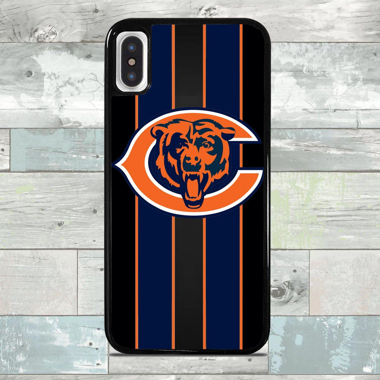 Chicago Bears Football Team Custom Iphone X Xs Case Chicago Bears Football Bears Football Chicago Bears