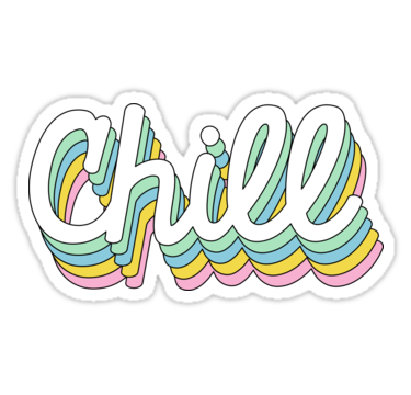 Retro Chill Stickers By Stickybad Redbubble Snapchat Stickers Bubble Stickers Tumblr Stickers