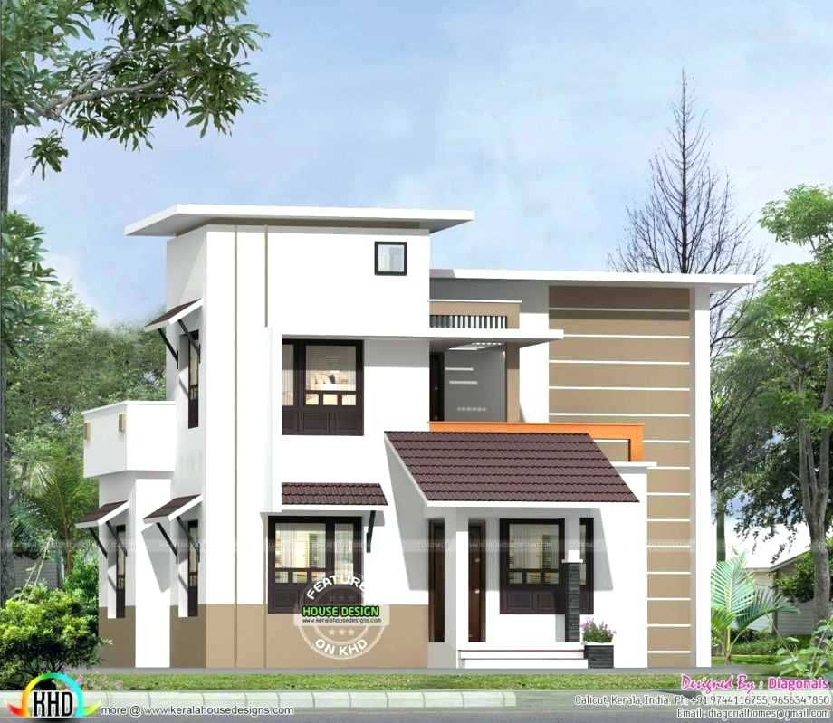 Small House Simple Home Front Design In 2020 House Front Design Kerala House Design Budget House Plans