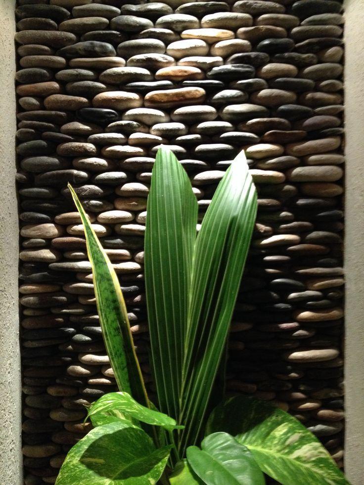 Resultado de imagen para dise o de pared del jardin con - Paredes de piedra ...