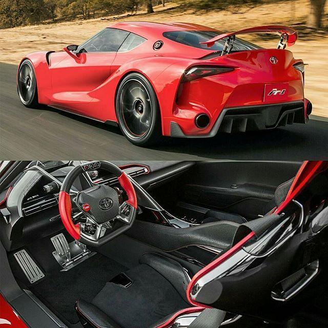 Toyota FT1 In Cherry Red #luxury #luxurylifestyle