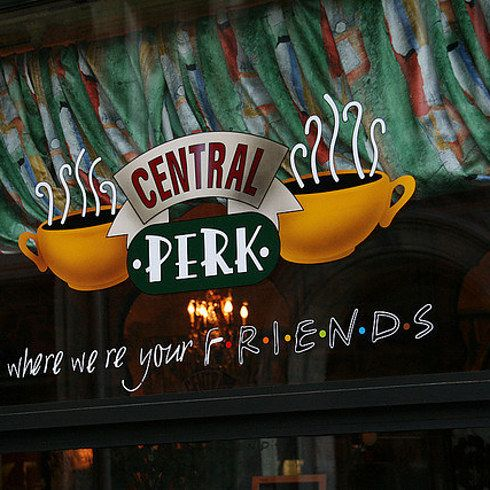 central perk friends new york real life restaurants and tvs. Black Bedroom Furniture Sets. Home Design Ideas