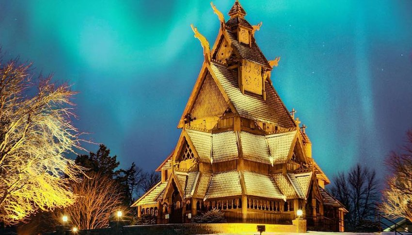 North Dakota Scandinavian Heritage Park A Park That Commemorates The Heritage Of Scandinavian Countries In 2020 Road Trip Across America Building Cathedral Basilica