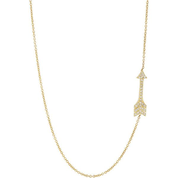 Jennifer Meyer Womens Arrow Pendant Necklace N6ngOy