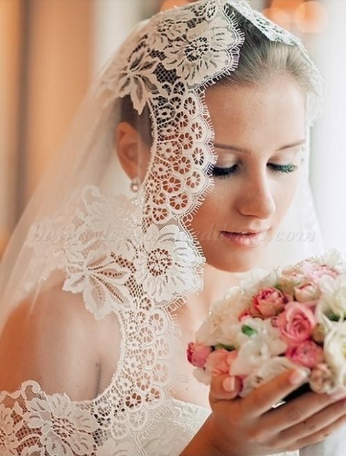 Wedding Caps And Veils Mantilla Veil