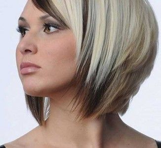 Latest Trend Blonde Ombre Colored Short Hair Hair Hair Styles