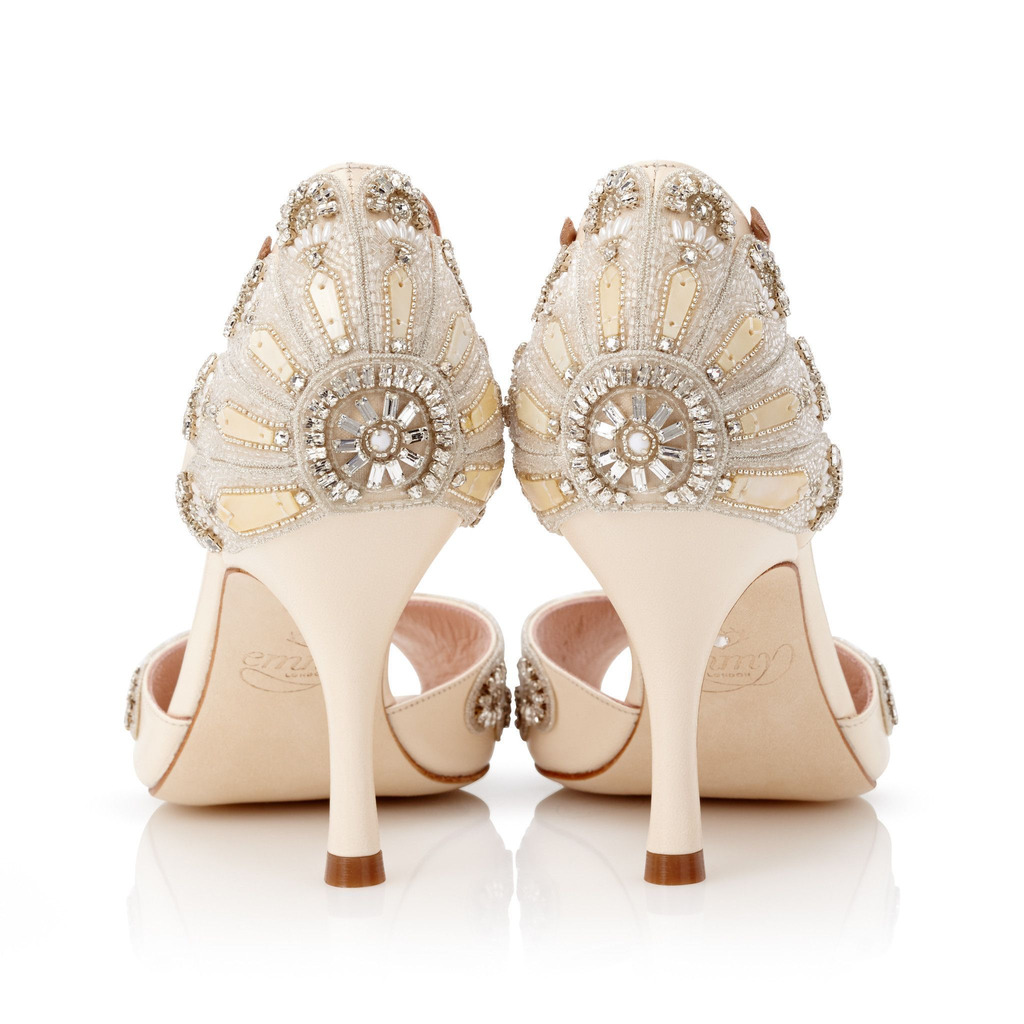 df1e12e3e Wedding shoes · The Francesca Mid is a wonderful mid-heeled style of our  Art Deco inspired Francesca