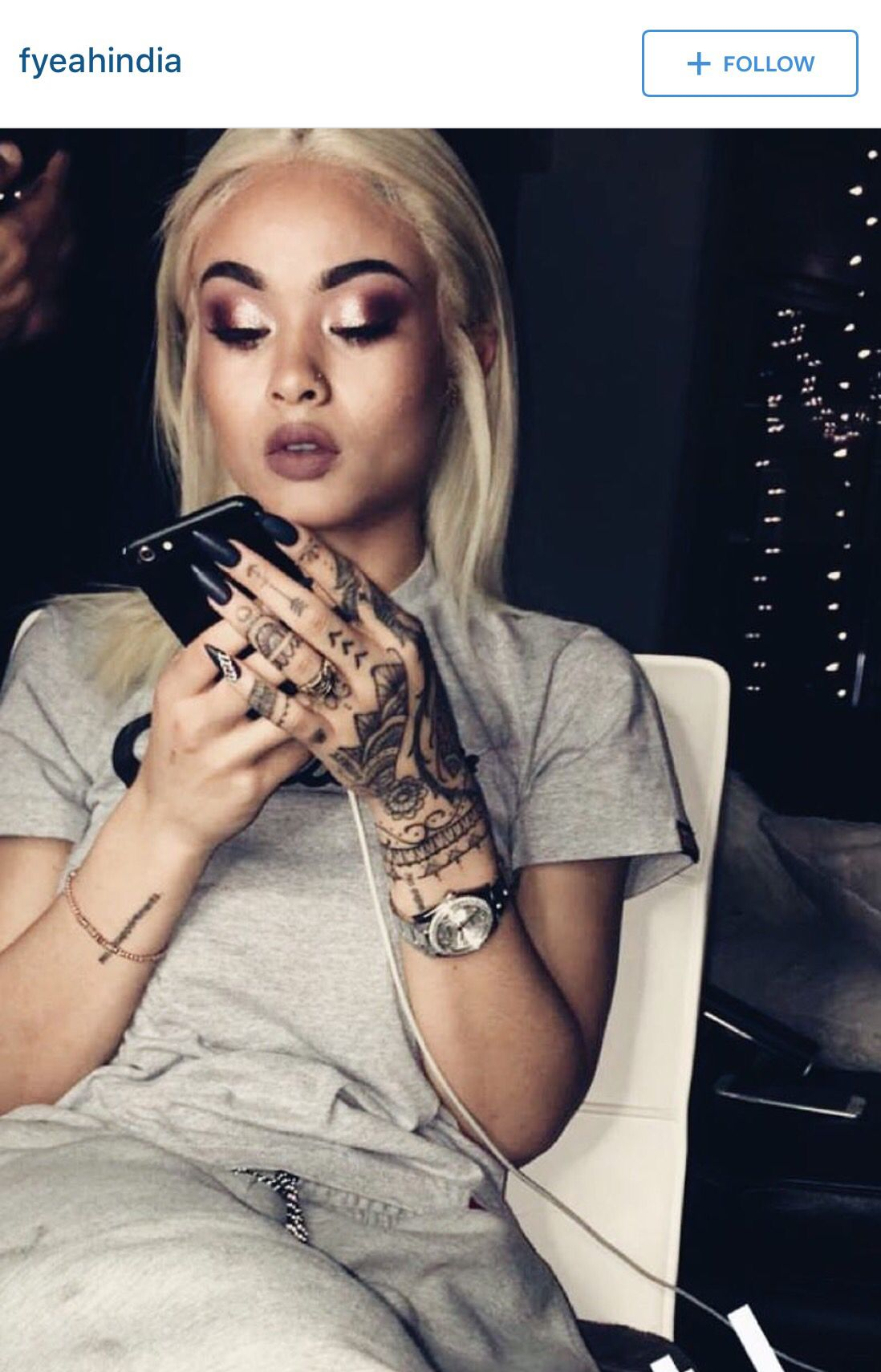 Hand Tat India Love Tattoos Tribal Hand Tattoos Hand Tats