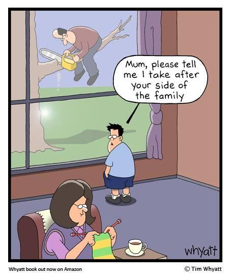 Whyatt Comics On Fb Clean Funny Jokes Daily Funny Funny Cartoons