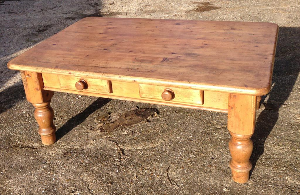 Antique Pine Coffee Table Pine Coffee Table Coffee Table Solid