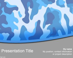 Free navy camo powerpoint template is an original texture free navy camo powerpoint template is an original texture powerpoint template with navy camouflage powerpoint slide toneelgroepblik Image collections