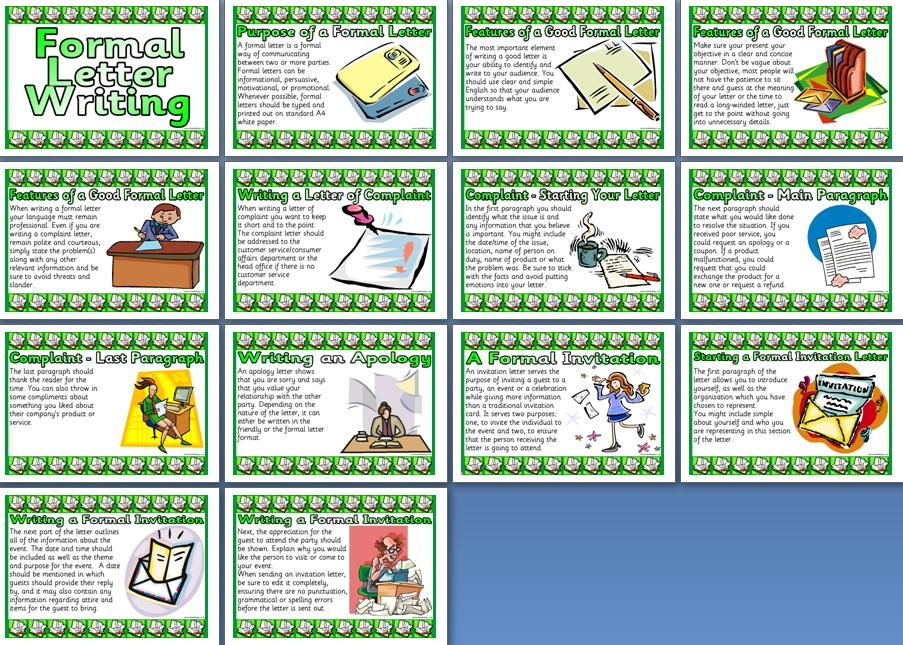 Literacy Resource, KS2 Personification Poem and Examples Posters - Formal Invitation Letters