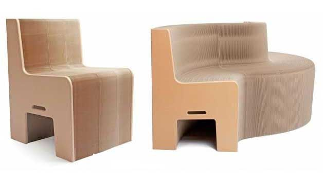 recycled paper furniture. This 100% Recycled Paper Chair Expand From 1-12 Seats Furniture U