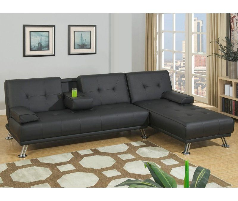 Booneville Reversible Sleeper Sectional Sofa Bed With Chaise