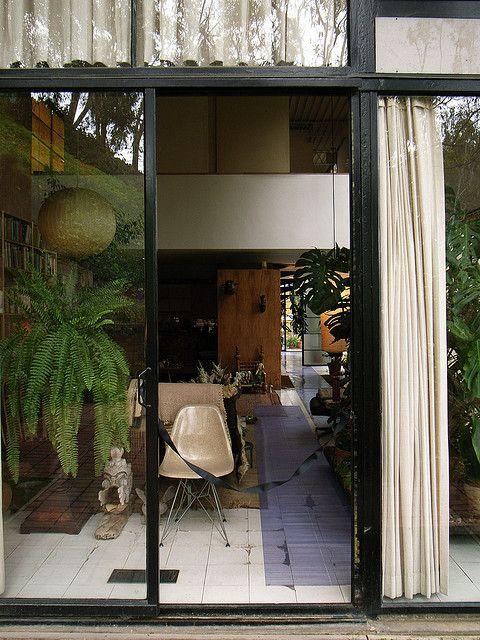 Eames House & Studio by oono.yusuke, via Flickr