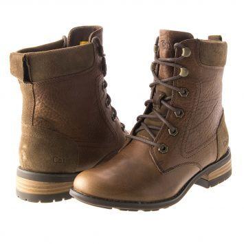 Caterpillar women's paulette boots - Paulette cashew outrage brown Womens  construction site visit outfit