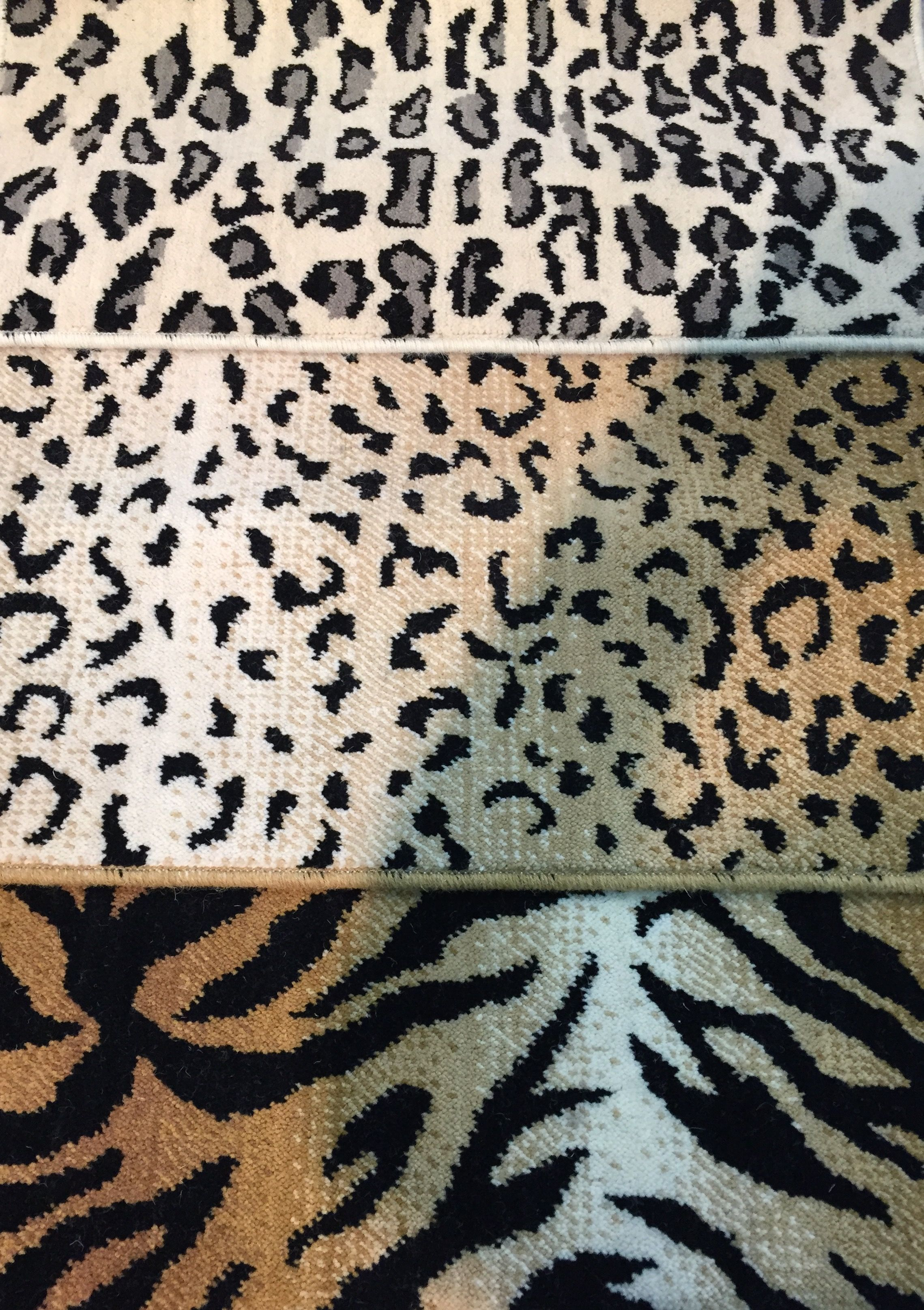 Nourison Animal Print Wool Carpet Offered For Wall To