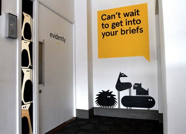 Many more awesome ex&les on Design Taxi: Quirky Redesign For London Creative Agency Features Cheeky Wall Murals & Many more awesome examples on Design Taxi: Quirky Redesign For ...