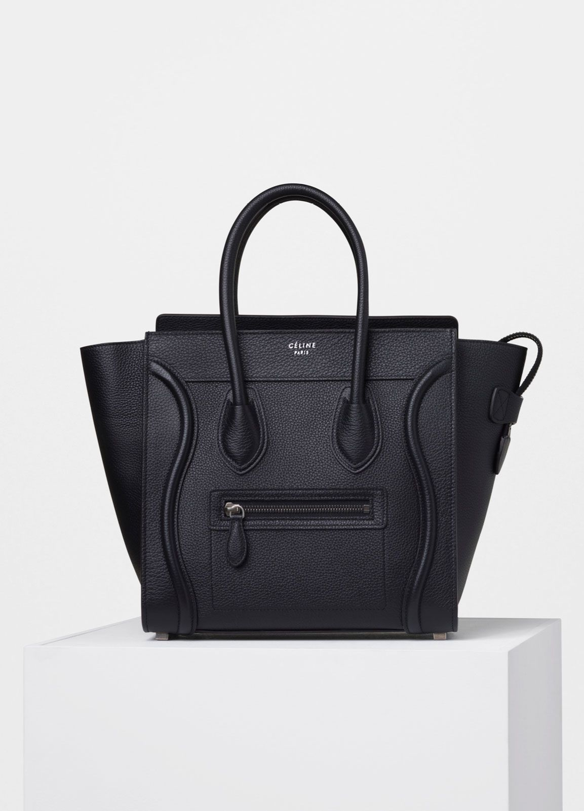 Micro Luggage Handbag In Drummed Calfskin Spring Summer Collection 2017 CÉline