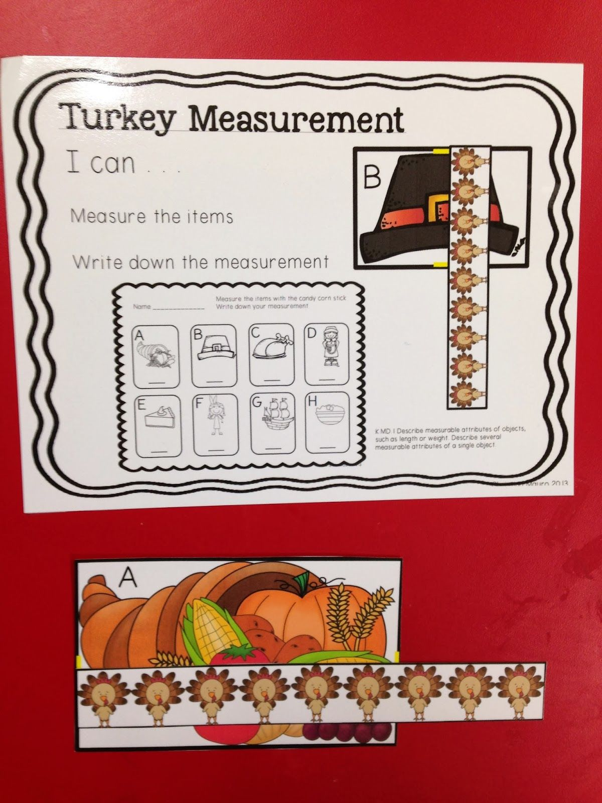 Turkey Measurement Freebie