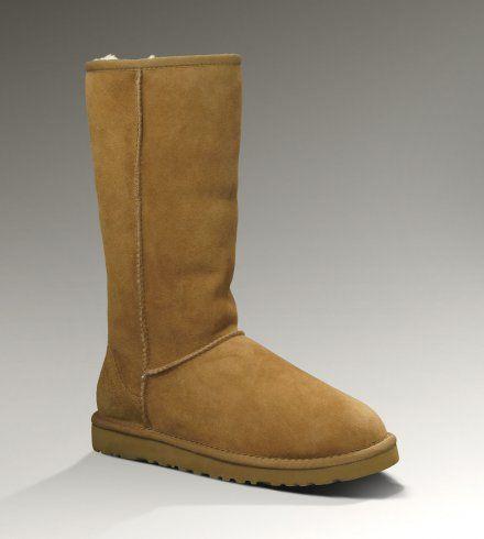Women UGG Classic Tall Boots Chestnut discount website