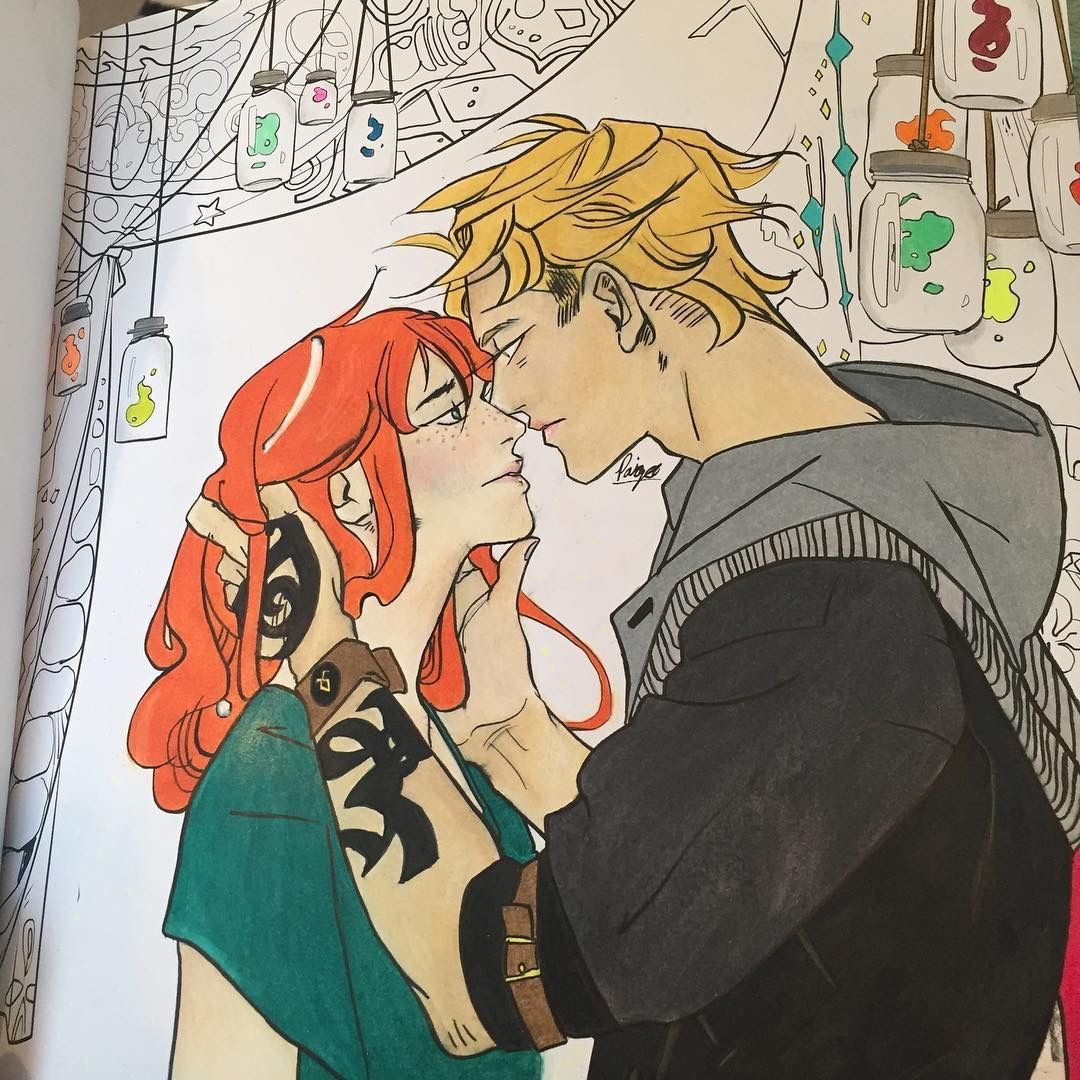 The Mortal Instruments | Coloring Book | Cassandra Jean