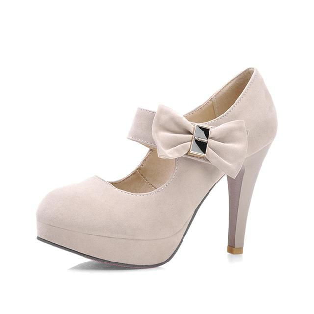 f942e0e91a45 KARINLUNA Big Size Fashion High Heels Pumps shoes women Spring Summer – US  MART NEW YORK