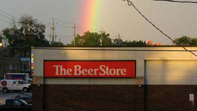 The beer store ---> there's gold at the end of the rainbow!