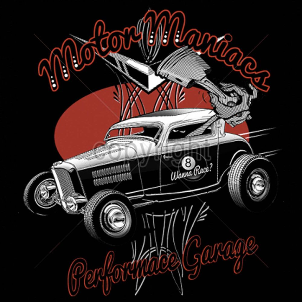ba560ce7351 Hot Rod T shirts Monster Rat Rod Cartoon Mens 100% Cotton Small to 6XL and  Tall  PitStopShirtShop  GraphicTee