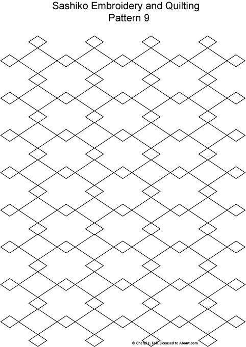 Sashiko Pattern 12