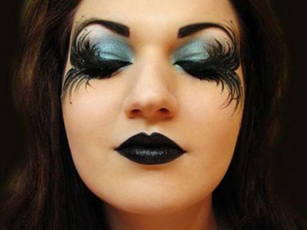 comment faire un maquillage de sorci re de halloween yeux pour halloween fairy halloween. Black Bedroom Furniture Sets. Home Design Ideas