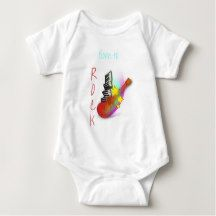 """Skye's Unlimited """"Born to rock"""" T-shirt"""