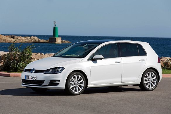 """Ein echter Volkswagen.Zuverlässigkeit zu günstigen Konditionen: Der """"Golf"""" in der siebten Generation."""