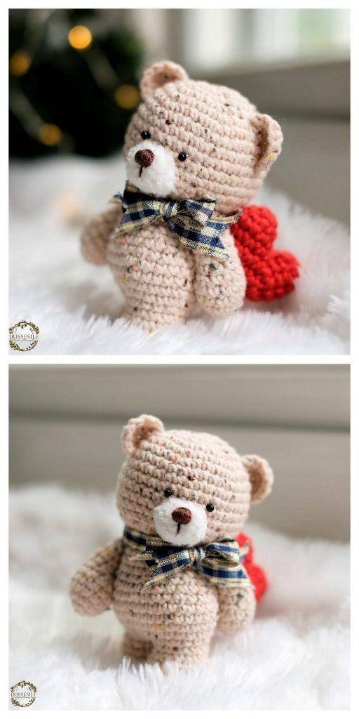 m #amigurumitutorial m #crochetbear