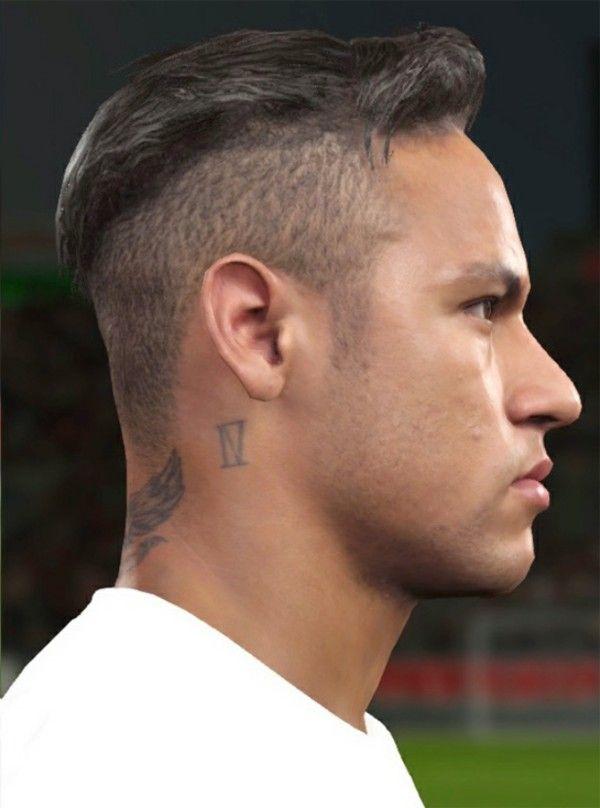 peinados-futbolistas-de-moda-neymar-600x808jpg (600×808) Hombres - corte de cristiano ronaldo