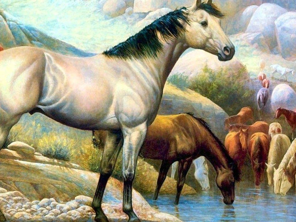 Amazing Wallpaper Horse Watercolor - e4cfc1c1bc9cfcea46f832f1b674d1ce  Perfect Image Reference_236013.jpg