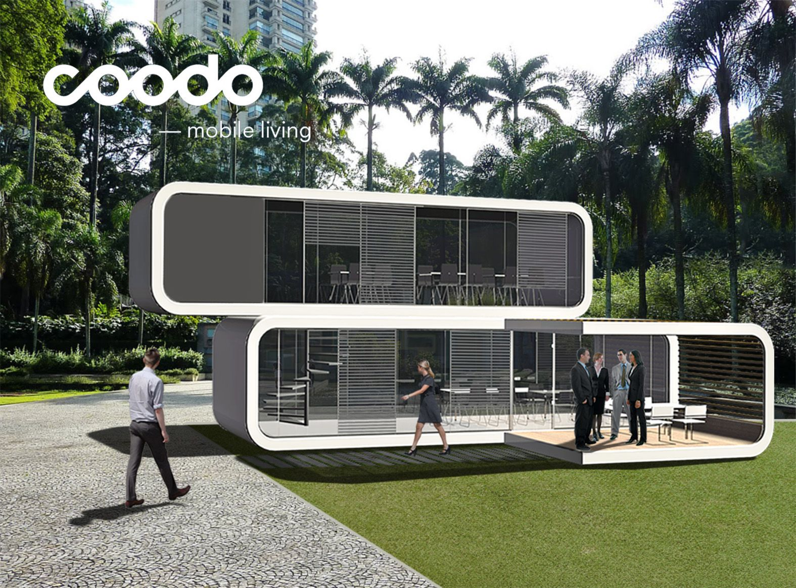 coodo - mobile living | coodo renderings | pinterest | tiny houses
