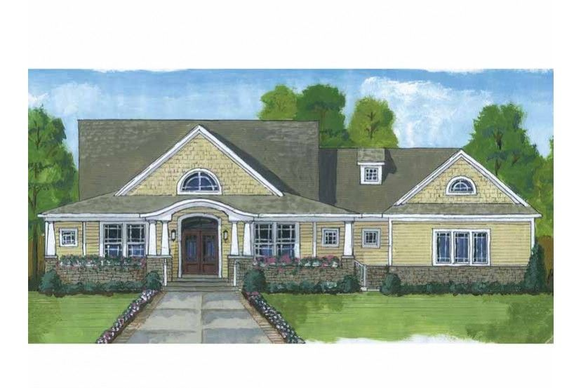Craftsman Style House Plan 4 Beds 2 5 Baths 2482 Sq Ft Plan 46 822 In 2020 Country Style House Plans Craftsman Style House Plans Country House Plans