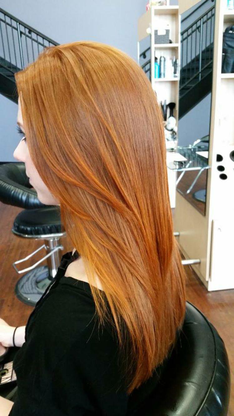 Hot Red Cellophane By Sebastian Love Best Hair Dye Dyed