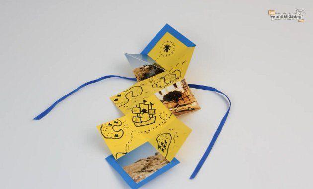 Descubre lo fácil que es hacer una carta original como esta con nuestro video tutorial exclusivo: http://bit.ly/J2osXE #manualidades